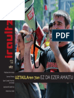 167 IRAULTZEN (aldizkari sindikala, revista sindical, journal syndical)