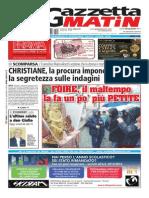 Gazzetta Matin del 20 gennaio 2014