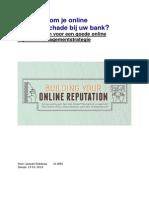 White paper Banken en hun online reputatie