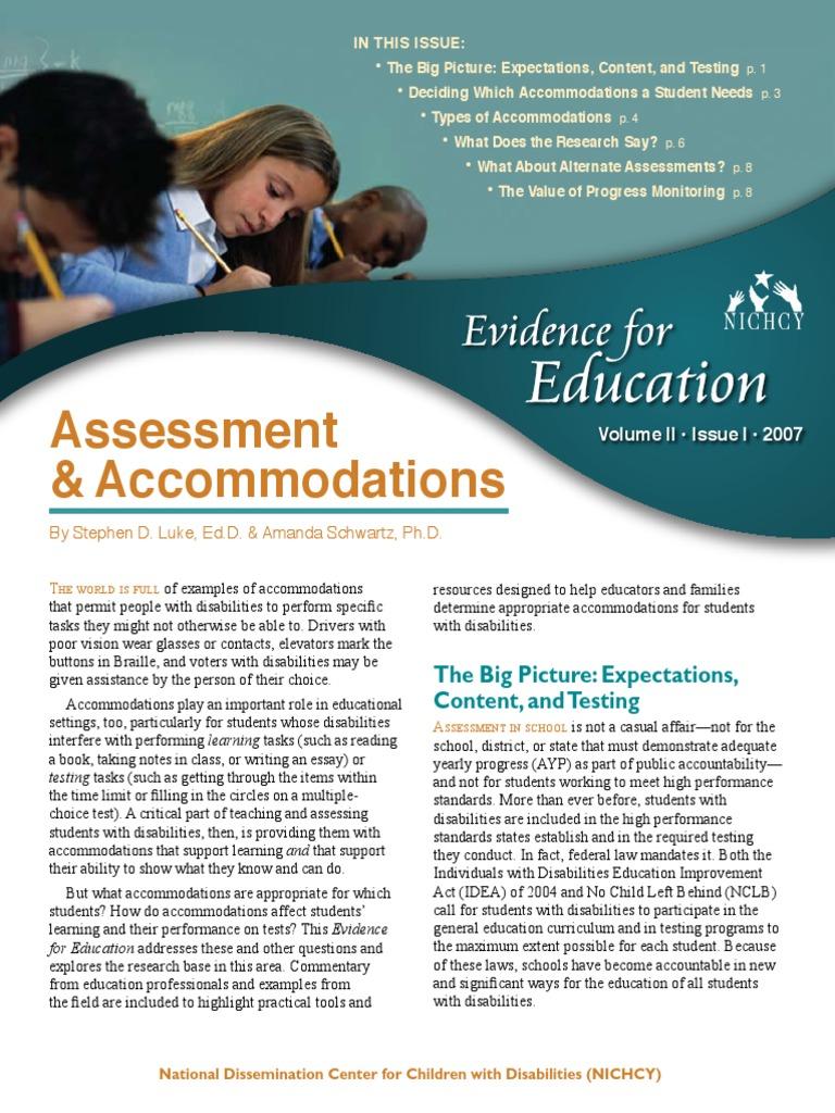 student evaluation of educators essay