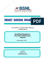 BB Equipment Preventive Maintenance Booklet by Gujarat Circle