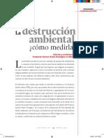 PINE. Cálculo y evolución del Producto Interno Bruto Ecológico en México