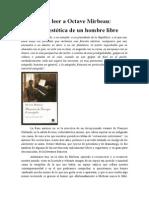 José Ramón Martín Largo, « Para leer a Octave Mirbeau