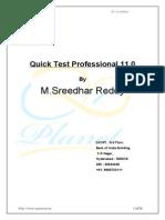 Qtp Notes MSR