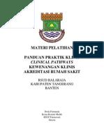 Dody Firmanda 2014 - RSUD Balaraja Kabupaten Tangerang, Banten