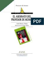 El Asesinato Del Profesor de Musica Propuesta Anaya Didactica