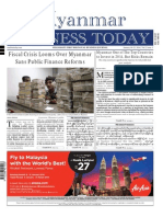 Myanmar Business Today - Vol 2, Issue 3