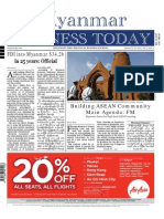 Myanmar Business Today - Vol 2, Issue 4