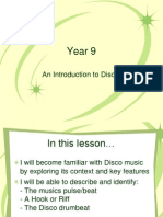 Disco Powerpoint for Y9
