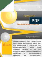 Comatec Presntation for Orange