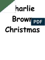 Script for Charlie Brown Christmas   Christmas
