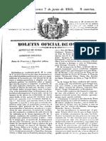 Boletin Oviedo 1844 Vaqueiros Circular 117