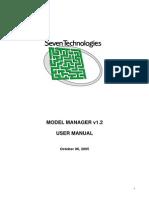 Model Manager - User Manual
