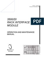 Rack Interface Module 3500 20S
