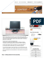 Dis-Assembly and Repair of a Dell E173FPf Monitor