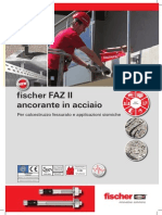 fischer FAZ II ancorante in acciaio