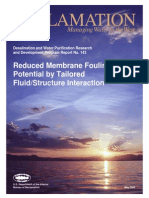 Report143 Reduced Membrane Fouling Potential-tailored Fluid Structure Interaction