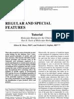 Tutorial in Molecular biology