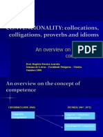 An Overview on Formulaic Competence