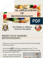 Medical Applications of Biotech