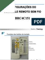 Manual de Serviço do Controle Remoto Sem Fio (BRC4C151)