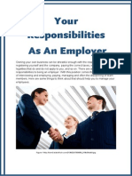 Your Responsibilities As An Employer