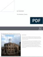 The Sheldonian Theatre Ian Crick-Smith