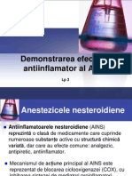 LP 3 Demo Efect Antiinflamator