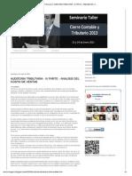 Analisis Costo de Ventas _blog de Contab y Finanzas