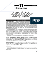 Sharing Love 5-11 June