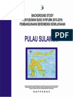 Background Study Buku III RPJMN 2015-2019 Pembangunan Berdimensi Kewilayahan Pulau SUlawesi