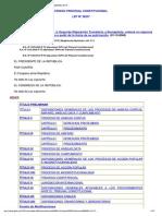 Codigo Procesal Constitucional_ley 28237