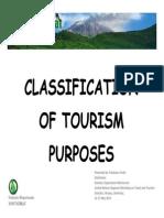 13b - Montserrat - Classification of Tourism by Purpose