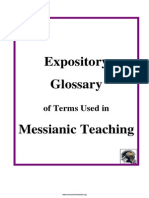 Messianic Teaching Glossary