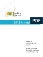 TTL Annual Report 2012