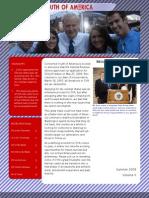 CYA Summer 2009 Newsletter