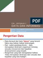 03 - Data Dan Informasi