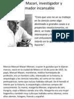 Marcos Mazari, investigador y formador incansable.pptx