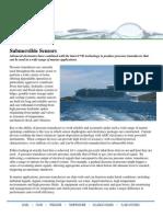 Submersible Pressure Sensors In Marine Applications