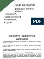 Language Categories