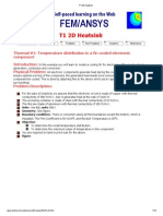 T1 2D Heatsink