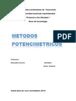 METODOS POTENCIOMETRICOS