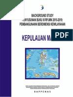 Background Study Buku III RPJMN 2015-2019 Pembangunan Berdimensi Kewilayahan Kepulauan Maluku