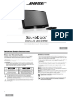 Sounddock_series1 - OWNER MANUAL