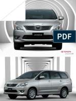 Toyota Innova Brochure (Brunei)