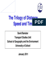 Banister_The Trilogy of Distance, Speed and Time # 2011