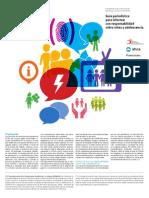 CONACAI - GUIA PERIODISTICA PARA INFORMAR CON RESPONSABILIDAD SOBRE NIÑEZ y ADOLESCENCIA - 2014