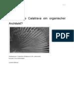 Ist Santiago Calatrava Ein Organischer Architekt1
