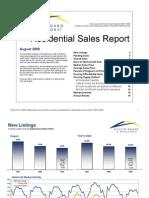 Austin Real Estate Market Statistics Aug 2009