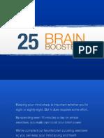 25 Brain Boosters
